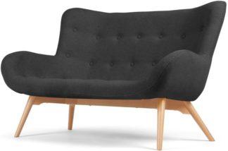 An Image of Doris 2 Seater Sofa, Shetland Slate