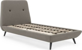 An Image of Edwin Single Bed, Pavilion Marl Grey
