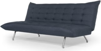 An Image of Keiko Sofa Bed, Quartz Blue