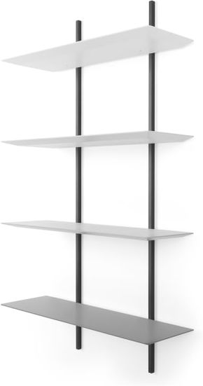 An Image of Reyner Shelving Unit, Tonal Grey
