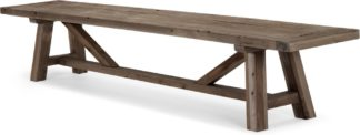 An Image of Iona Extra Large Bench, Solid Pine