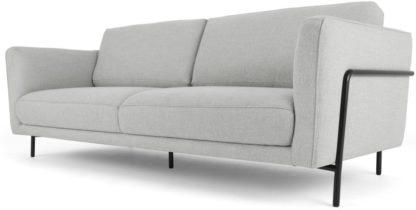 An Image of Everson 3 Seater Sofa, Titan Grey