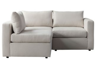 An Image of Miller Two Seat Corner Sofa - Left or Right Hand – Calico
