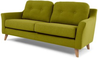 An Image of Rufus 2 Seater Sofa, Leaf Green
