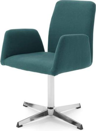 An Image of Grant Office Chair, Mineral Blue