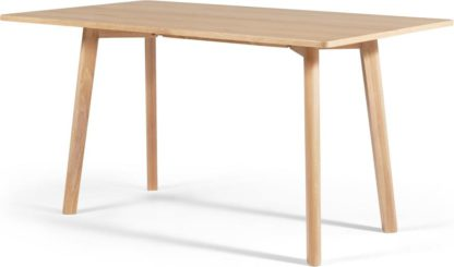 An Image of MADE Essentials Benn Console to Dining Table, Oak
