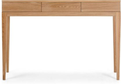 An Image of Vernay Console Desk, Oak