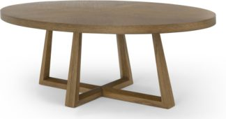 An Image of Belgrave Coffee Table, Dark Stained Oak
