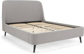 An Image of Hayllar Double Bed, Cool Grey
