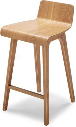 An Image of Devlin Barstool, Natural Ash