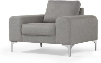 An Image of Vittorio Armchair, Pearl Grey