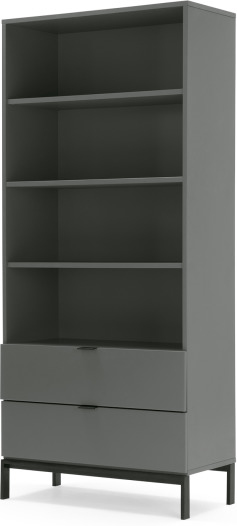 An Image of Marcell Bookcase, Grey