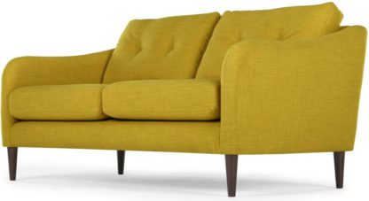 An Image of Content by Terence Conran Alban 2 Seater Sofa, Chartreuse
