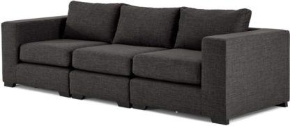 An Image of Mortimer 4 Seater Modular Sofa, Seal Grey