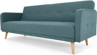 An Image of Chou Click Clack Sofa Bed, Sherbet Blue