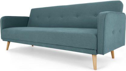 An Image of Chou Click Clack Sofa Bed, Sherbet Blue