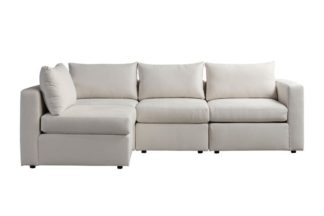 An Image of Miller Three Seat Corner Sofa - Left or Right Hand – Calico