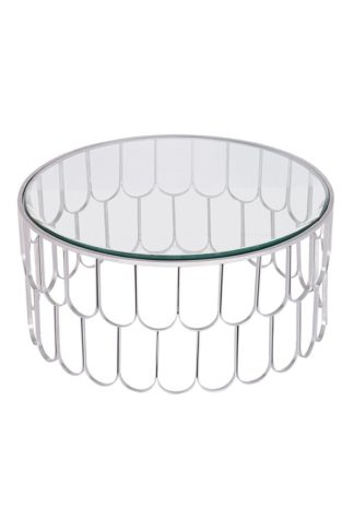An Image of Pino Silver Coffee Table