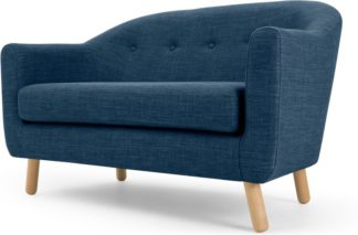 An Image of Lottie 2 Seater Sofa, Harbour Blue