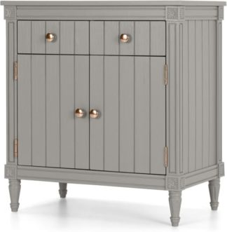 An Image of Bourbon Vintage Compact Sideboard, Copper and Grey
