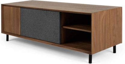 An Image of Luther Large TV Stand, Walnut