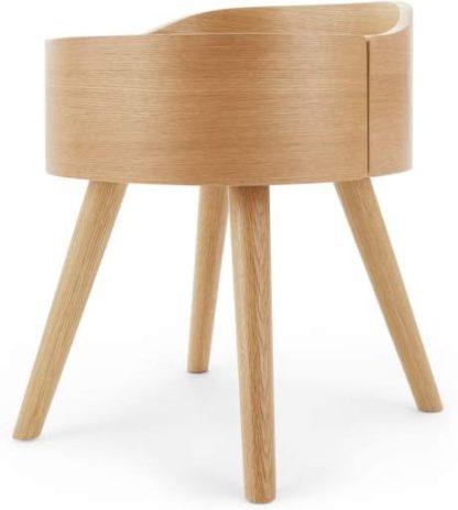 An Image of Ada Bedside Table, Oak