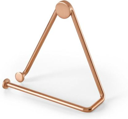 An Image of Bran Toilet Roll Holder, Copper