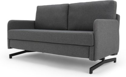 An Image of Motti Sofa Bed, Marl Grey