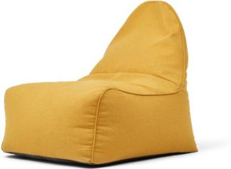 An Image of Ayra Bean Bag Chair, Yolk Yellow