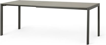 An Image of MADE Essentials Swift 4-8 Seat Extending Dining Table, Tonal Grey