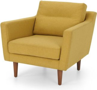 An Image of Walker Armchair, Orleans Yellow
