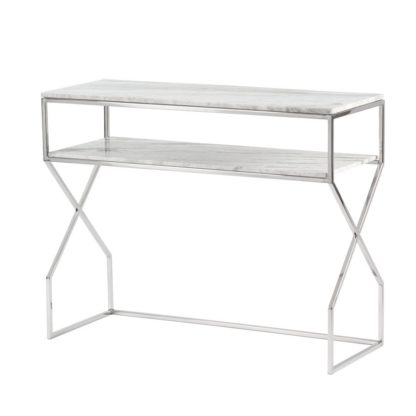 An Image of Alhambra Silver Console Table