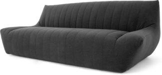 An Image of Ivan 3 Seater Sofa, Marl Grey