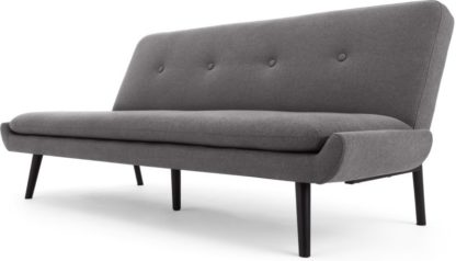 An Image of Edwin Click Clack Sofa Bed, Marl Grey