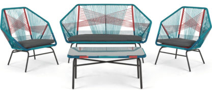 An Image of Copa Garden Lounge Set, Multi