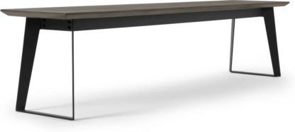 An Image of Boone Bench, Grey Concrete Resin Top