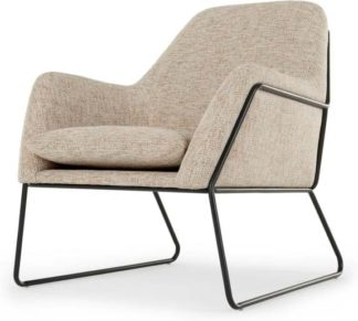 An Image of Frame Armchair, Basketweave Amber