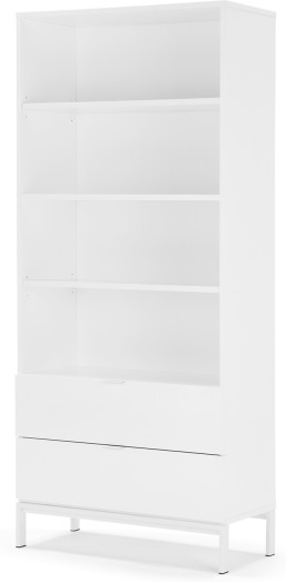 An Image of Marcell Bookcase, White