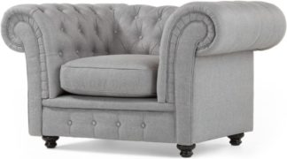 An Image of Branagh Armchair, Pearl Grey