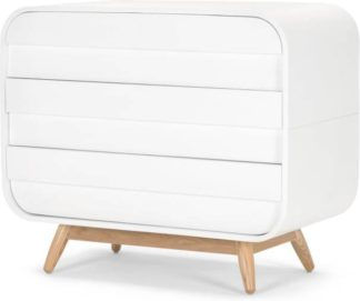 An Image of Esme Chest of Drawers, White and Ash
