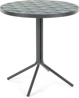 An Image of Indra Bistro Table, Tonal Blue