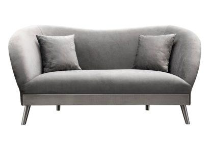 An Image of Lapio Two Seat Sofa - Dove Grey