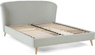 An Image of Lulu super kingsize bed, honeycomb weave