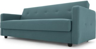 An Image of Chou Click Clack Sofa Bed with Storage, Sherbet Blue