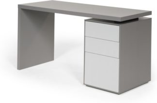 An Image of Stretto Desk, Tonal Grey