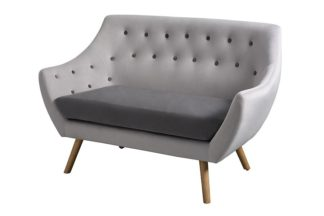 An Image of Poet Sofa, Grey Two Tones