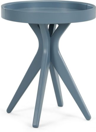 An Image of MADE Essentials Pieta Bedside Table, Grey
