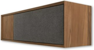 An Image of Luther Wall TV Stand, Walnut