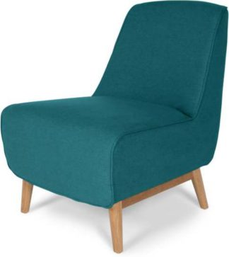 An Image of Leo Accent Chair, Mineral Blue