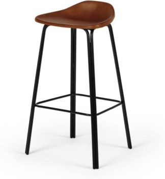 An Image of Lodi Barstool, Tan and Black